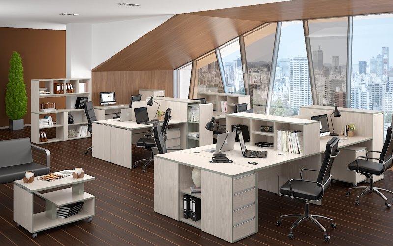 Мы производим широкий спектр мебели для офиса